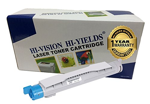 HI-VISION HI-YIELDS Compatible Toner Cartridge Replacement for Dell 5100 (Cyan)