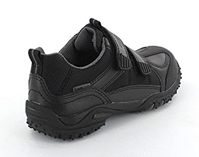 Superfit Joe Boys Black Velcro Gore-Tex School Shoes