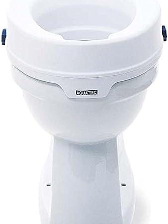 Invacare Réhausseur Toilettes Réhausseur Wc Avec Couvercle Hauteur 10 Cm Aquatec 90