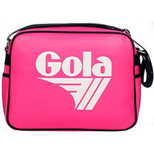 Gola , Sac bandoulière pour femme Neon Pink/White/Black