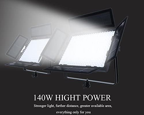 FalconEyes Portable LED Studio Light LP-2805TD 140W 280pcs LEDs Color Temperature Adjustable DMX System with LCD and Touch Panel Control