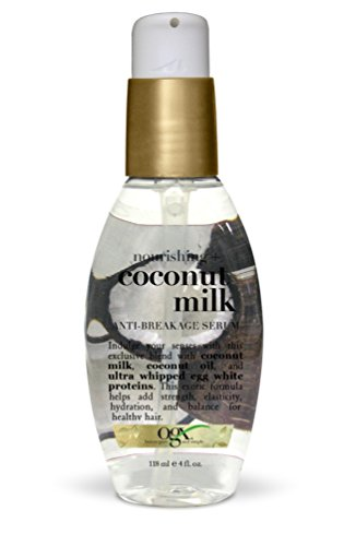 OGX  Anti-Breakage Serum, Nourishing Coconut Milk, 4oz