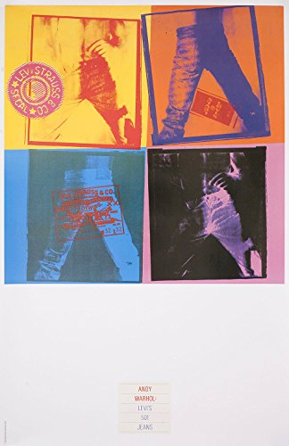 andy-warhol-levis-501-jeans-1984-japanese-b2-poster
