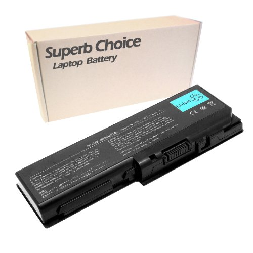Superb Choice 9-Cell Battery Compatible with Toshiba Satellite X205 Series