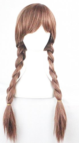 Braid Cosplay Wigs For Frozen Party Halloween1 Free Wig Cap QHQ ShiningLife Wig019