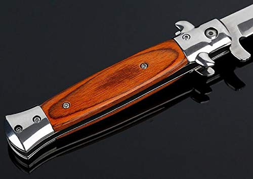 Lispeed Folding Cuchillo de Cuchillo de Alta dureza Hoja de ...