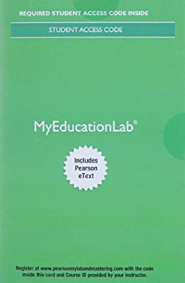 MyEducationLab with Pearson eText -- Access Card -- for Educational Research: Competencies for Analysis and Applications (11th Edition)
