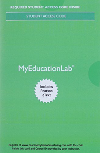 Myeducationlab Educational Research
