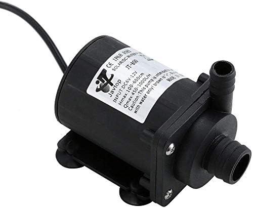 Wasserpumpe Fontäne Pumpe DC12V pumpe Wasser Mini 14 5 W Bürstenlos Magnetpumpe Fördermenge 700L / h Förderhöhe 5 M für Aquarium Gartenbewässerung Wasser Zirkulationssystem