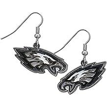 NFL Chrome Dangle Earrings