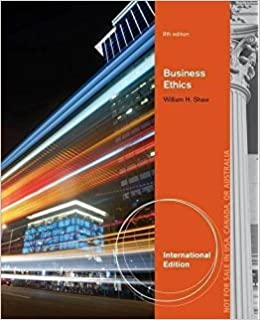 Business ethics 8th edition shaw 9788131526040 amazon books fandeluxe Gallery