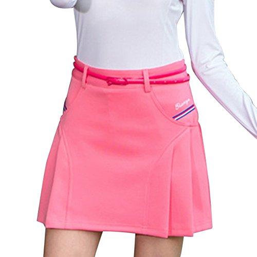 【Selling-sports】女性のゴルフプリーツスカート屋外スポーツスカート毎日アンダーウェアでカバー