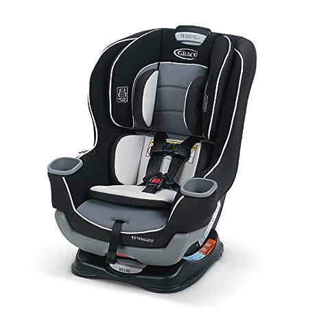 Graco Extend2Fit Convertible Car Seat, Gotham 1