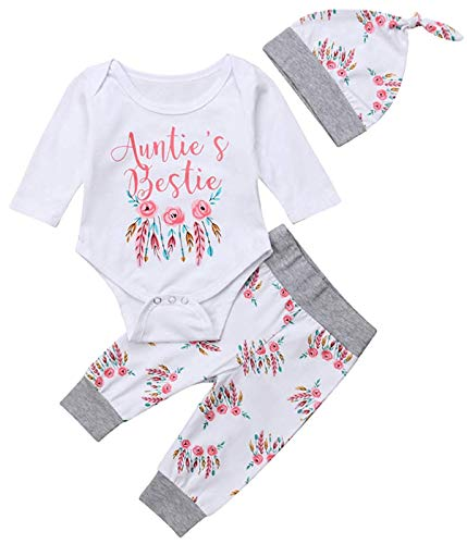 HHmei Letter Print Romper Striped Pants Outfits Sets For Girls Baby Girl Summer Jumpsuit
