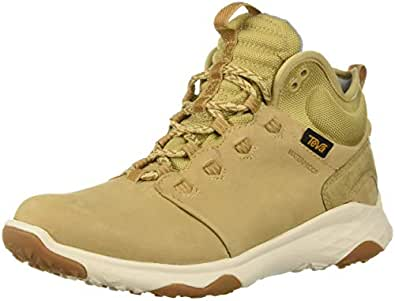Teva Women's Arrowood 2 MID WP Closed Toe Trekking & Hiking Boots, Desert Sand, 5 US