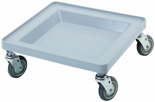 Cambro Manufacturing CDR2020151 Camdolly without Handle Gray (1 (Gray Dolly)