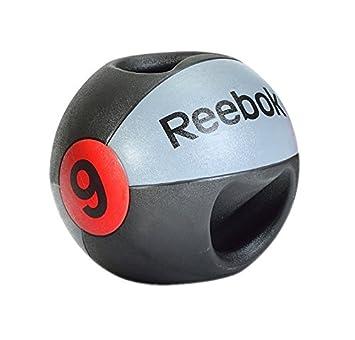 Reebok Double Grip 9Kg Balón Medicinal de Doble Agarre, Unisex ...