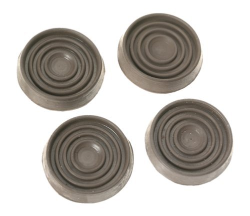 Shepherd Hardware 9075 1 1/2 Inch Round Rubber Furniture Cups, 4 Pack    Plate Casters   Amazon.com
