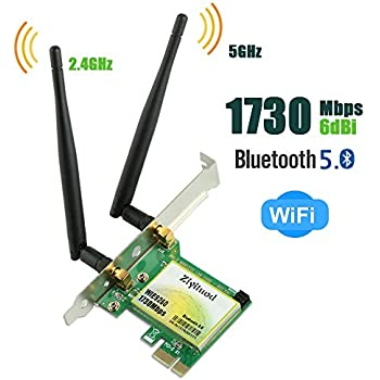 Amazon.com: WiFi Card,PCI Express(PCIe) WiFi Card,300Mbps ...