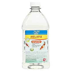 Api Pond Melafix Pond Fish Bacterial Infection Remedy 64-ounce Bottle