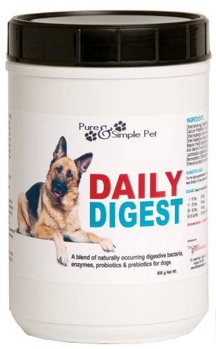 Pure and Simple Pet Daily Digest for Dogs, 800gm, My Pet Supplies