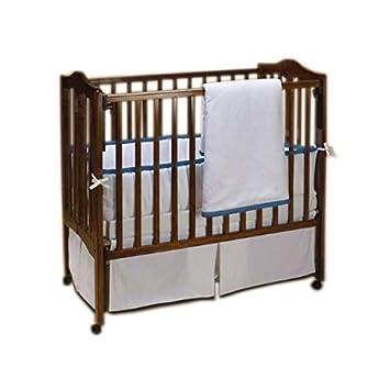 BabyDoll Forever Mine Junior Crib Bumper Grey