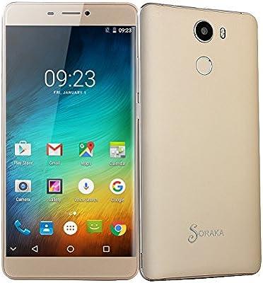 SORAKA 4G LTE Smartphone 6,0 Pulgadas ROM 16 GB + RAM 2 GB Android ...