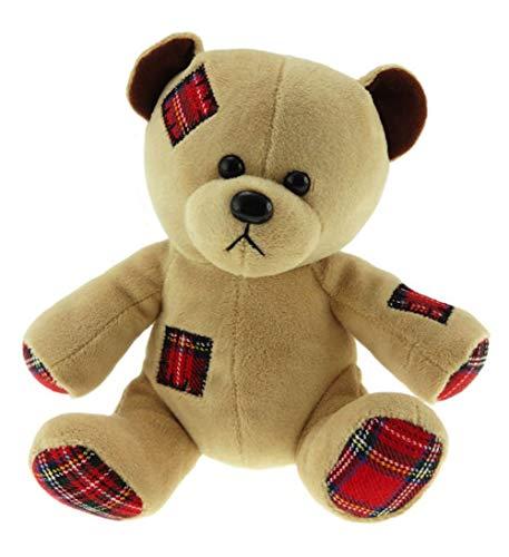 Glen Appin Traditional 100% Scottish Tartan Patch Work Teddy Bear
