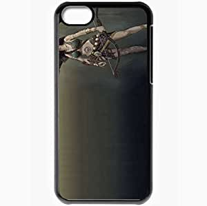 Personalized iPhone 5C Cell phone Case/Cover Skin Age Of Conan Black