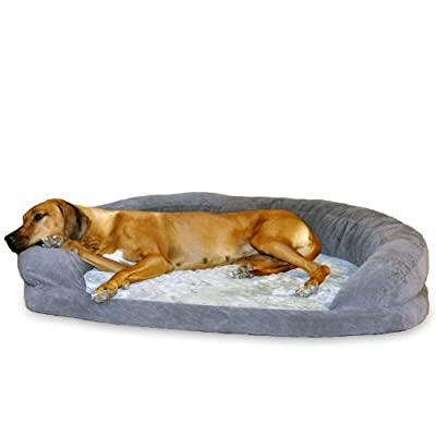 K&H Pet Products Ortho Bolster Sleeper Orthopedic Dog Bed from K&H Manufacturing