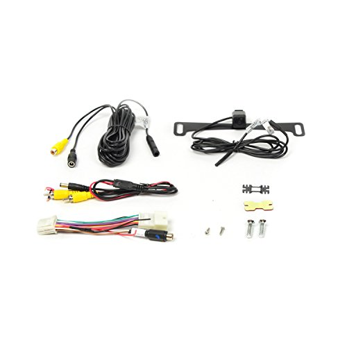 Area License Trim (Brandmotion 9002-7630 Aftermearket Camera Kit for Toyota 6.1-Inch Display Radios)