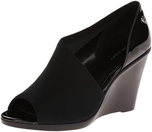 Calvin Klein Women's Lanai Wedge Pump,Black,5 M US: Amazon