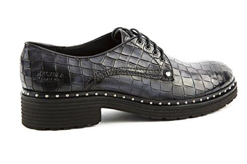 Melvin & Hamilton - Zapatos de cordones de charol para mujer negro negro 37