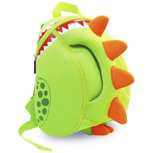 OFUN Toddler Backpack Dinosaur Themed Backpack, Neoprene Kids Bagpack, Preschool Backpack for Boys Girls, Waterproof (Best Lunch Box For 3 Year Old)