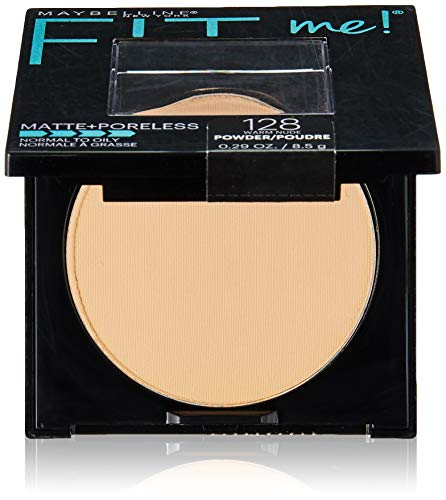 Maybelline New York Fit Me Matte + Poreless Pressed Face Powder Makeup, Warm Nude, 0.28 Ounce