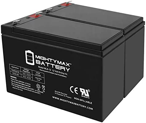 Mighty Max Battery 12V 8AH SLA Replaces CyberPower Intelligent 1500VA UPS 10 Pack
