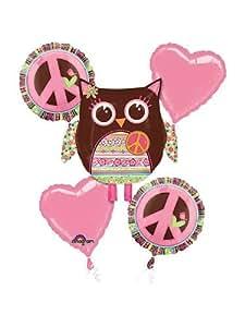 Hippie Chick Balloon Bouquet