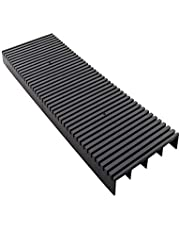 Utoolmart 45015025 Plastic Turnover Box Anti-Static Turnover Box Rubber Basket ESD Circulation Rack Shelf