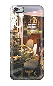 For Iphone 6 Plus Fashion Design Traditional Dining Area With Contemporary Table And Chairs Case-InMCQwH28337cQLpd