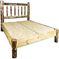 Montana Woodworks MWGCPBK Glacier Country Collection King Platform Bed
