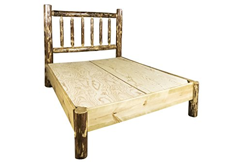 Montana Woodworks MWGCPBCAK Glacier Country Collection Platform Bed California ()
