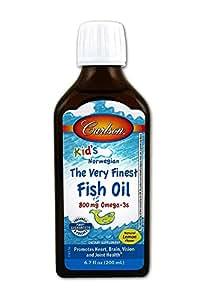 Carlson for kids very finest fish oil lemon 200ml amazon for Carlson fish oil amazon