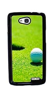 Golf Ball Pattern Hard Case for LG Optimus L90 ( Sugar Skull ) by ruishername