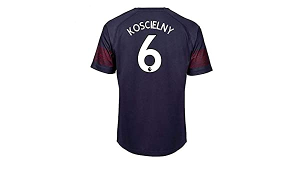 368d06993 Amazon.com   2018-2019 Arsenal Puma Away Football Soccer T-Shirt Jersey (Laurent  Koscielny 6) - Kids   Sports   Outdoors