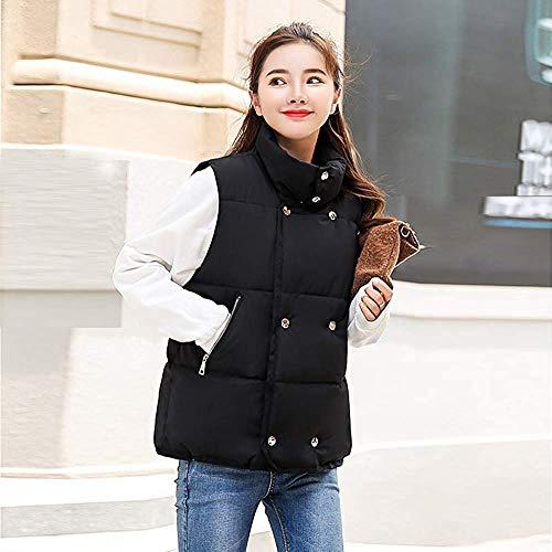 Donna Capispalla Da Festa Caldo Style Cappotto Schwarz Giacca Invernale Sportiva A wmN8vn0