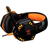 Goodtrade8-Headphones Wired Gaming Headset with Microphone for PS4 PC Laptop Phone