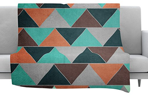 40 x 30 Fleece Blanket Kess InHouse Catherine McDonald Southwest Throw