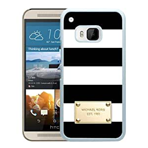 Fashionable And Unique Designed Case With Michael Kors 83 (2) White For HTC ONE M9 Phone Case