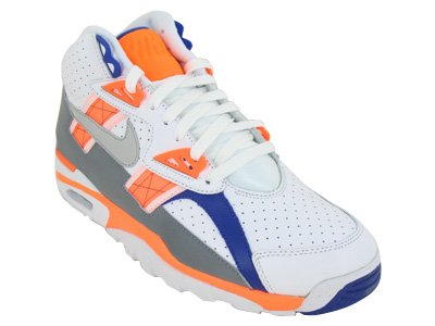 Nike Air Trainer High SC Mens Cross Training Shoes 302346-106 White 9 M US (Cross Nike Trainer Sc)