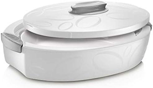Enjoy Oval Insulated alimentos servidor con fuente para horno ...